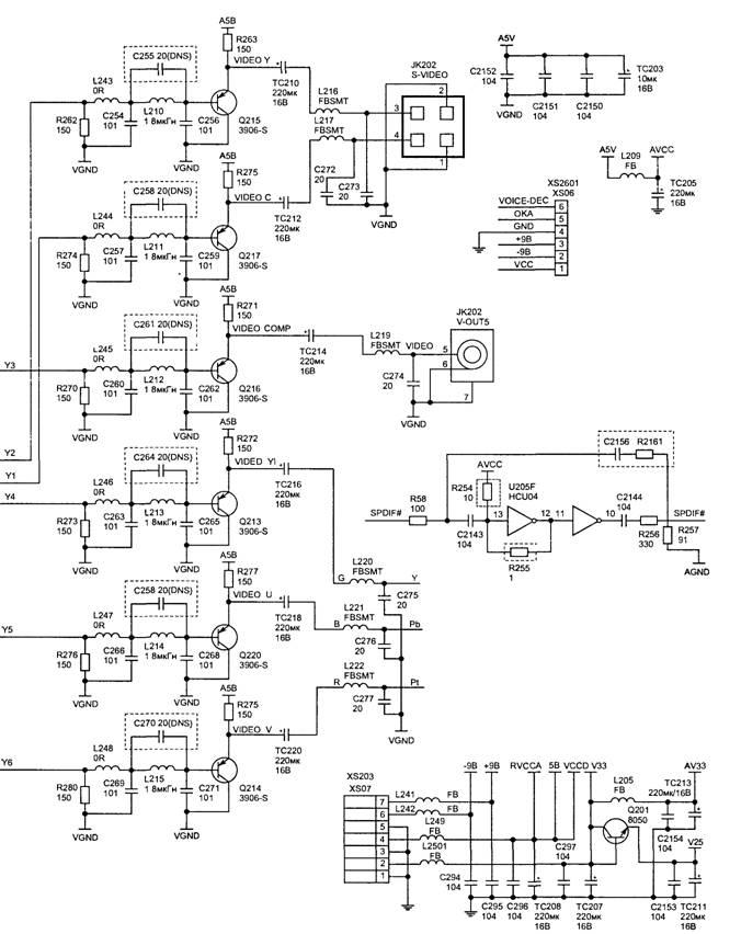 Декодер звукового сигнала
