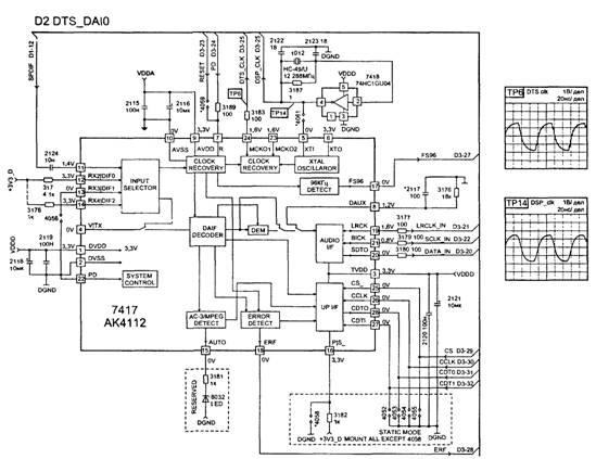 Принципиальная схема узла D1