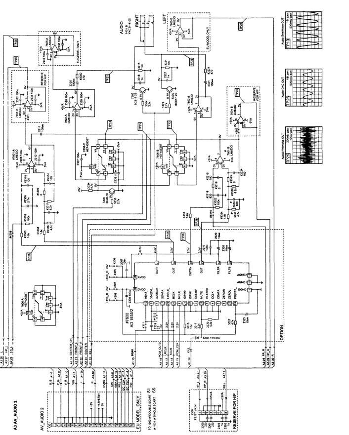 Принципиальная схема узла А2